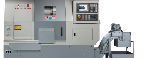 Ganesh KSL-5212 TMY Turning/ Turn Mill Center